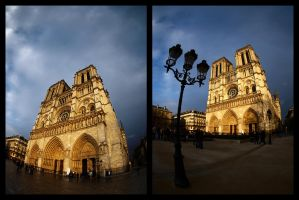 Variations of Notre Dame by rdevill