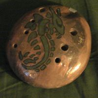 River Rock Dragon Ocarina by Taedyn