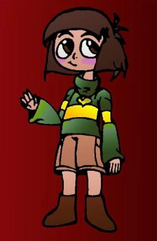 The Fallen Child (Chara) by ThatLuigiBrony