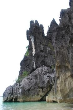 Rock climbing in Camsur by mjonline