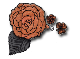 orange flower-png by miralkhan