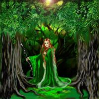 Forest Protectress by thecharmedmuse