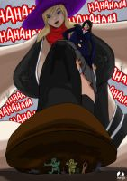 Giantess Trolling by Giantess-Beatrice