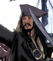 Captain Jack Sparrow by Gale01