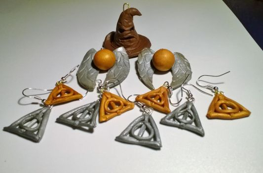 Harry Potter charms (Polymer clay) by HeeLash