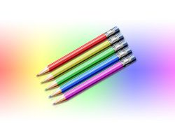 Colored Pencils Wallpaper by MAUXWEBMASTER