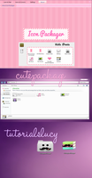 iconpackager cutepackage by tutorialslucy