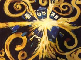 Pandorica Opens!! (Painting Copy) by Skye-Jones