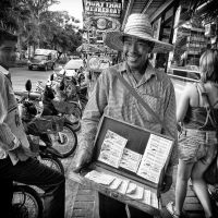 Lottery Ticket Seller by MichiLauke