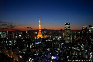 Tokyo Sunset by Solarstones