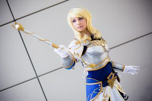 LoL-Luxanna Crownguard by XwinterXsilenceX