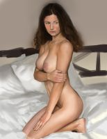nude colours and values study by Rhineville
