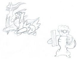 Pokemon Sketches 1 by FunkyK38