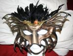 Forest Lord Leather Mask by Silverfaune