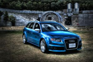 Audi RS4 Avant HDR 01 by ROM1GTO