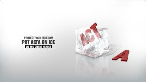 Put ACTA on ICE! by schaltzdesign