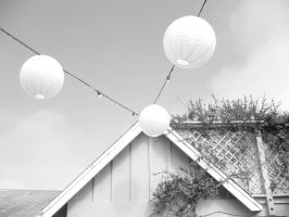Suspended Lanterns by LexiLuWho