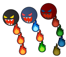 The Fire Chomp Family Tree by Leonidas23