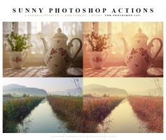 Photoshop Actions Sunny by lieveheersbeestje