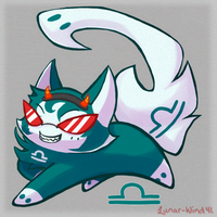 Kirikitties Commission: Terezi by Lunar-Wind