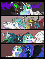 I Will Protect my Subjects from You by RedApropos