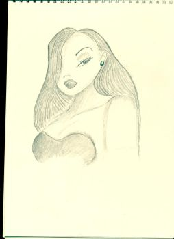 jessica rabbit by wgar77