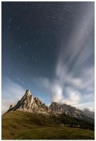 Night passes in the Dolomites by JamesRushforth