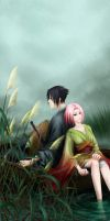 Into the Mist - SasuSaku by humonster