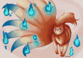 Ninetails Thank you by Southrobin