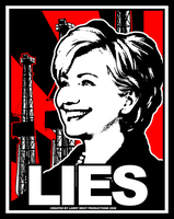 Clinton: LIES by luvataciousskull