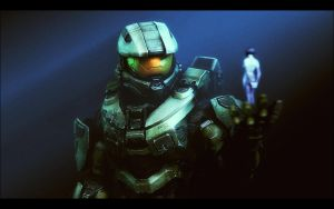 Master Chief by RustledJimmys