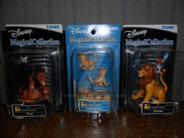 .:TLK Japan Magical Collection figures:. by Pega-Flair