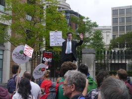 Osborne Addresses the Crowd by Party9999999