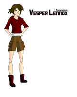 Vesper Lennox by girlwonder004