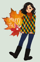 Happy Fall by uixela