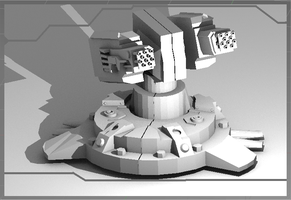 Ray Tech, Turret Pic-2 by gunzet