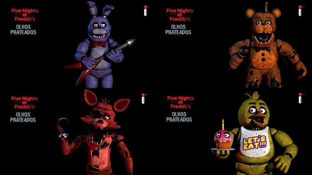 Fnaf The Silver Eyes Release Images by RedtheRedBird