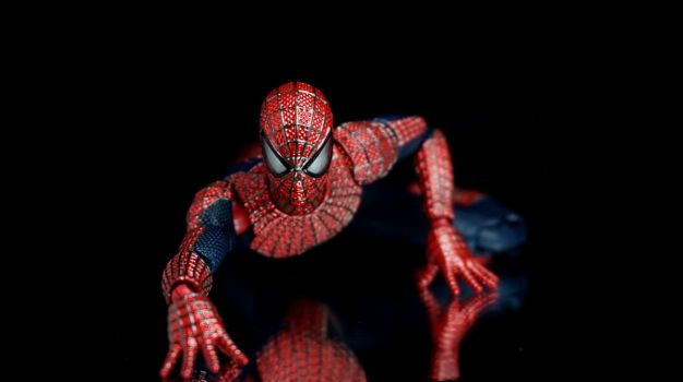 Mafex Amazing Spider-Man 2 02 by Infinitevirtue