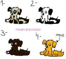 Puppies Adoptables by buizelfight