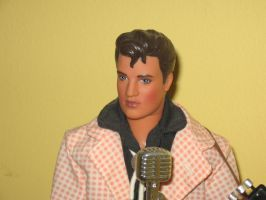 Elvis Presley Figure 3 (50's) by RoyPrince