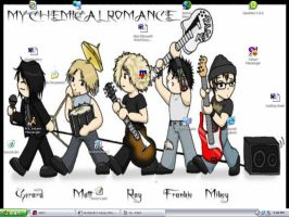 My Chemical Romance once again by OjosVerde