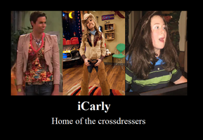iCarly GenderBending by ChezaGriffin