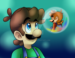 Bubble mario by raygirl12