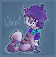 Violet Commission by Saber-Panda