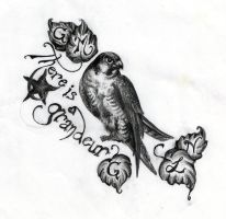 my tattoo by Alsdale