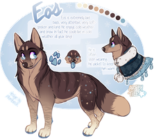 commission: eos by BabyWolverines