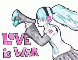 Love is War by Fairybunny27