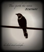 Thus Quoth The Raven by GhostGarden