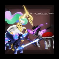 Fall of the Crystal Empire  OST Album Cover by AnimatorRawGreen