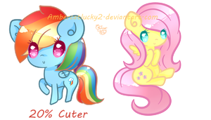 Rebubble Ponies by Ambercatlucky2